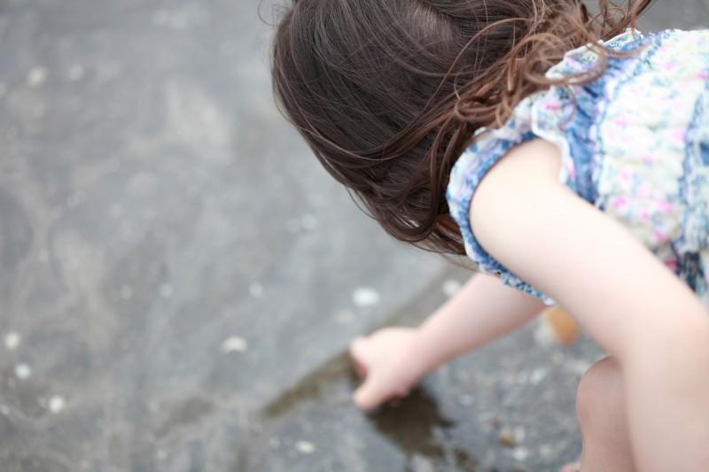 陽気も良く、水に触れるだけでも気持ちがいいものですね。