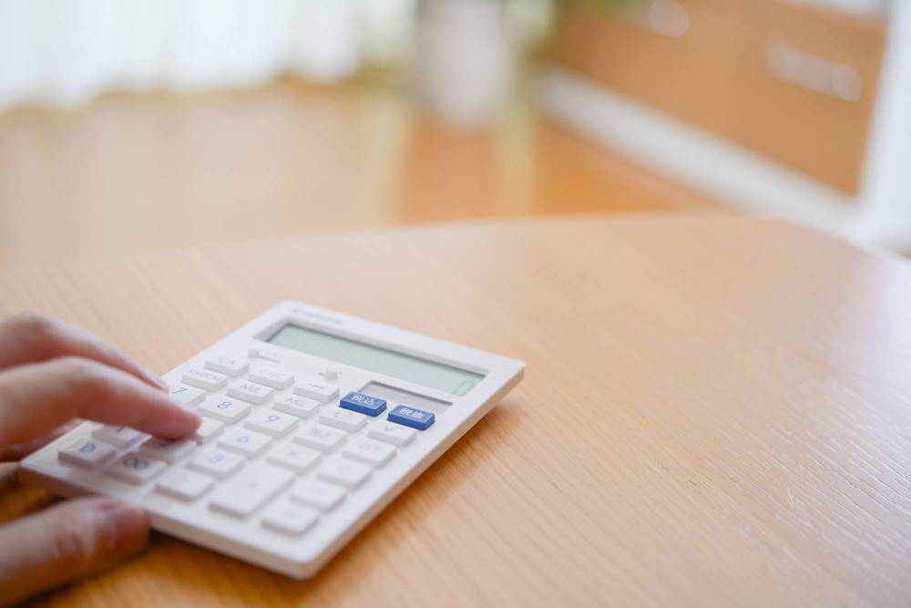 大人になってからは、3桁の数字は暗算ではなく計算機を使うように