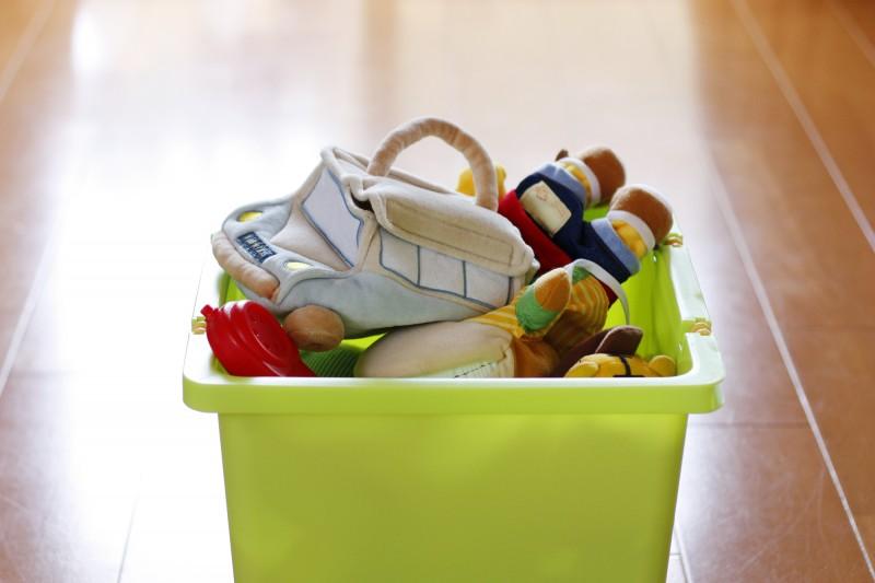 「簡単片付け」で部屋をキレイにキープする方法!一瞬で部屋が散らかり放題のワーママ宅が実践