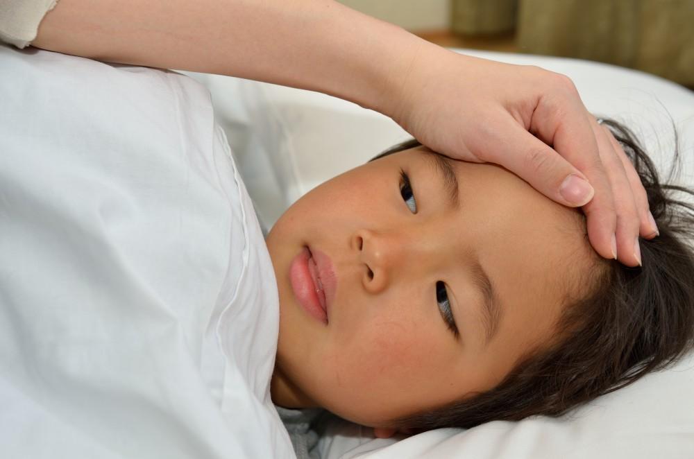 子どもの急な発熱にはドキッとしてしまいます