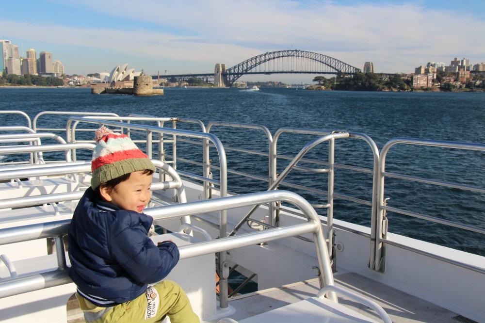 【オーストラリア】男の子ママに朗報! シドニーは乗り物天国