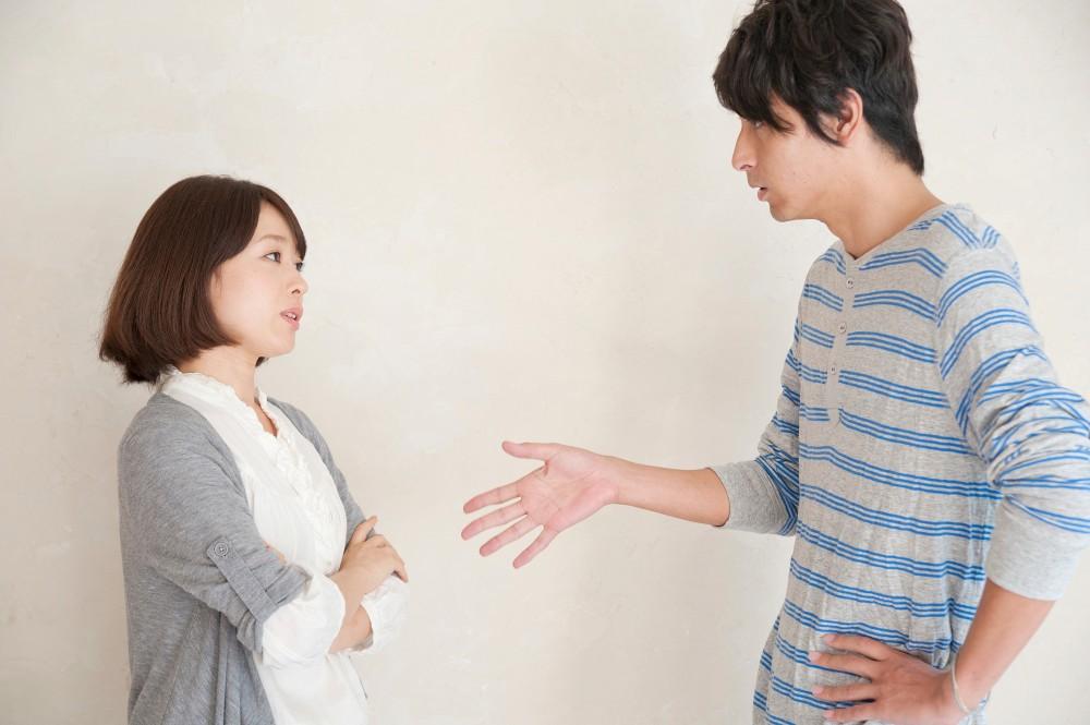 喧嘩ごしではなく落ち着いて、旦那さんと話し合ってみましょう