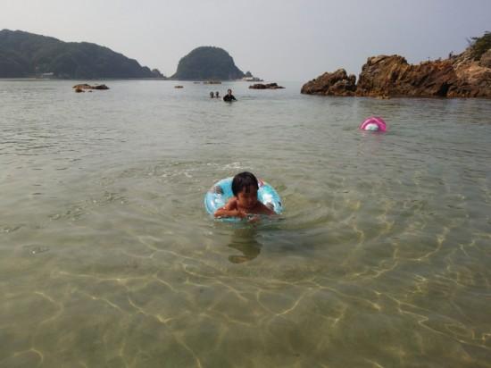 子どもたち初めての海水浴は最高の思い出なりました!