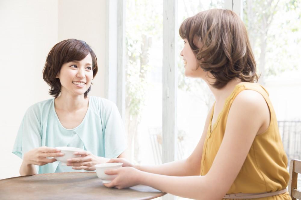 共通の悩みがある人同士話すと楽になりますね