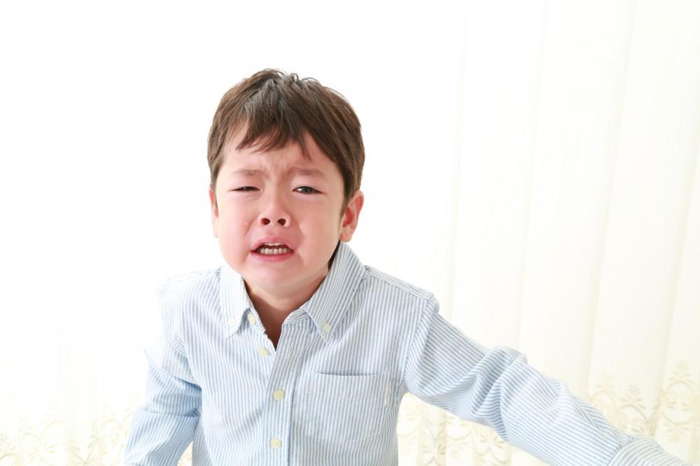 診察だけで泣く子どもがたくさんいます