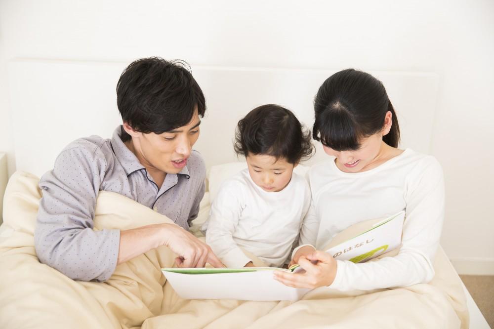 読み聞かせを親子のコミュニケーションの時間に。