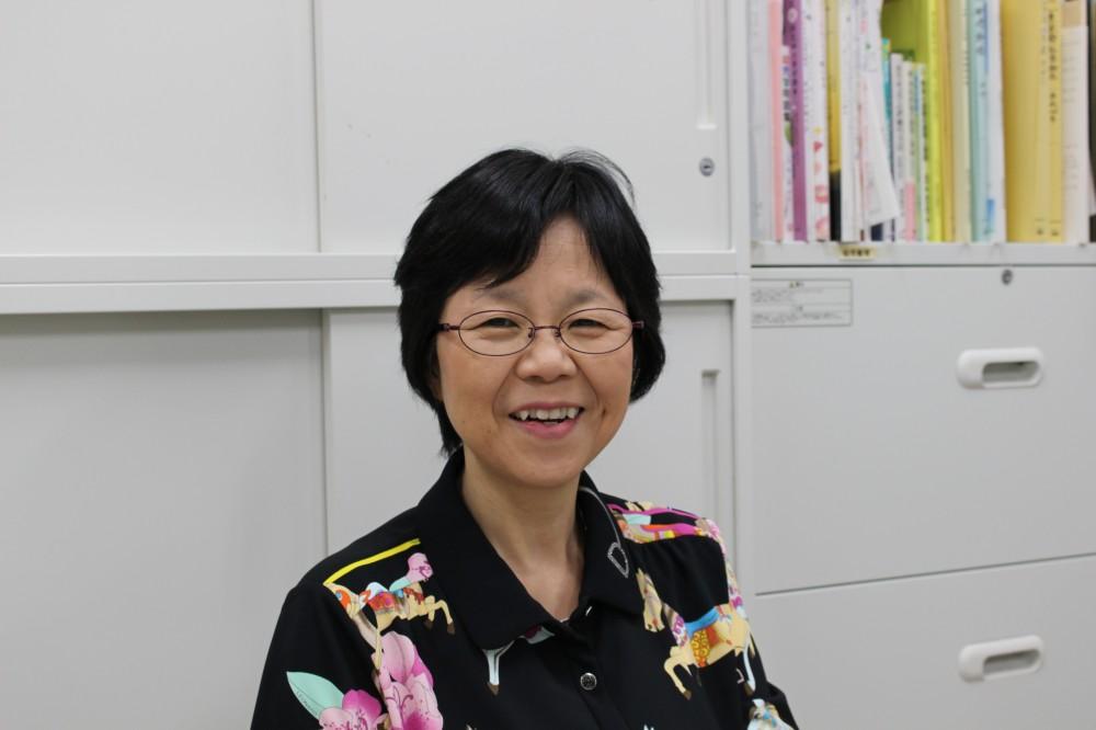 今回インタビューをさせていただいた岩立京子先生。