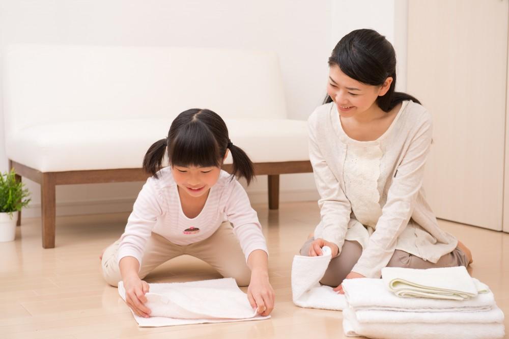 ママがやっていることを楽しんでできるのが小学校低学年