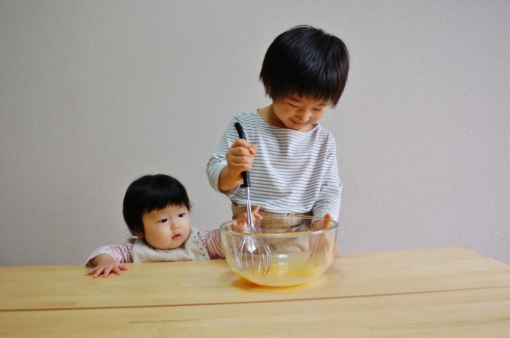 いつもママがやっていることをお手伝いできる! 子どもも喜んでやってくれそうです。