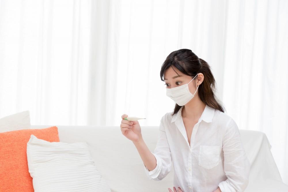 高熱がでることが特徴のインフルエンザ