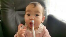 <赤ちゃんの歯磨き>いつからどうやって磨いてる?先輩ママたちに工夫も聞いた