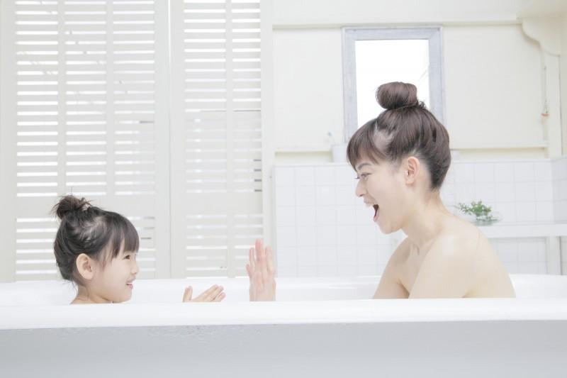 子どもとおもいっきりベタベタできるお風呂は、大事なスキンシップの場