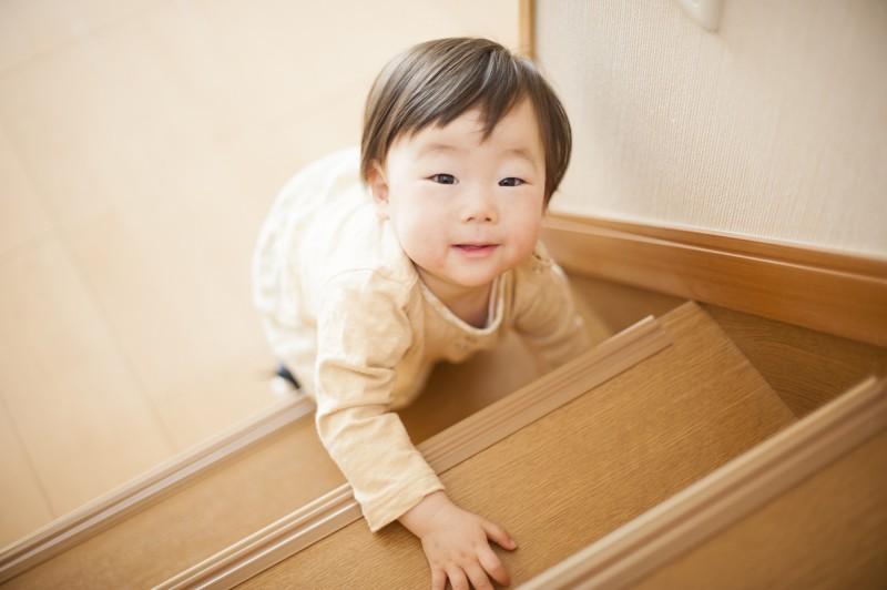 自宅の階段も不慮の事故が起きやすい場所