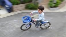 自転車の乗り方は、地域の講習などで、ちゃんと指導してもらいましょう