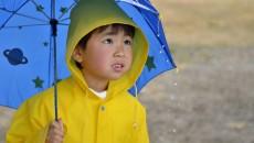 お気に入りの傘をさせば、子どももご機嫌♪