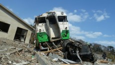 震災時は、交通機関が遮断され、子どものお迎えになかなか行けない。