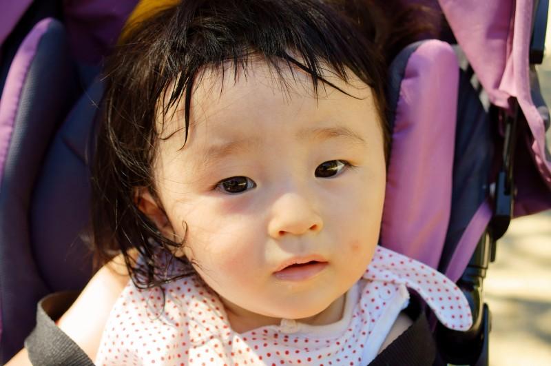 赤ちゃんの代謝は半端なく、汗も半端ない