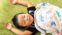 保育園では寝てるのに。休日のお昼寝って難しい!