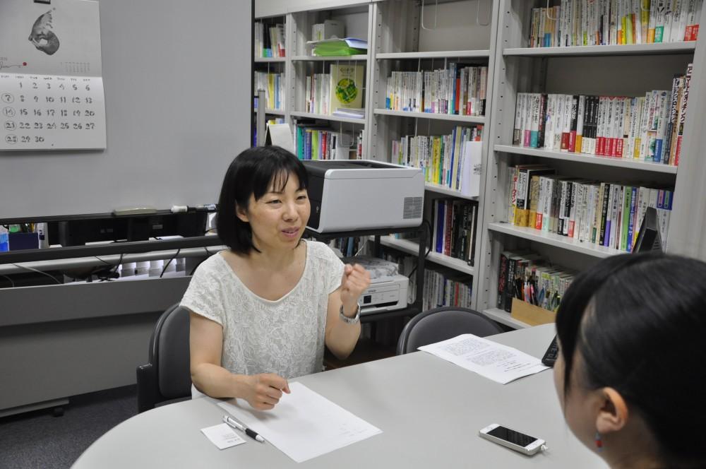 発達心理学が専門の齋藤先生。同じワーママです!