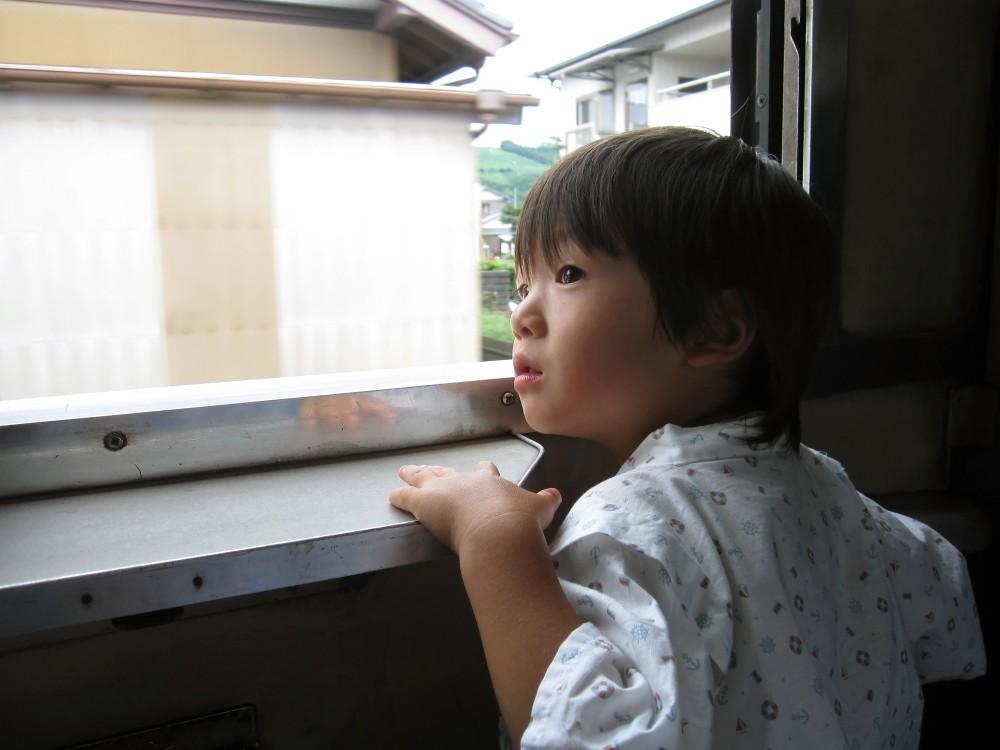 子ども1人での遠出は大冒険ですね。