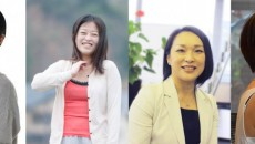 写真左から、中野円佳さん、吉見夏実さん、松尾香里さん、鈴木まりこさん