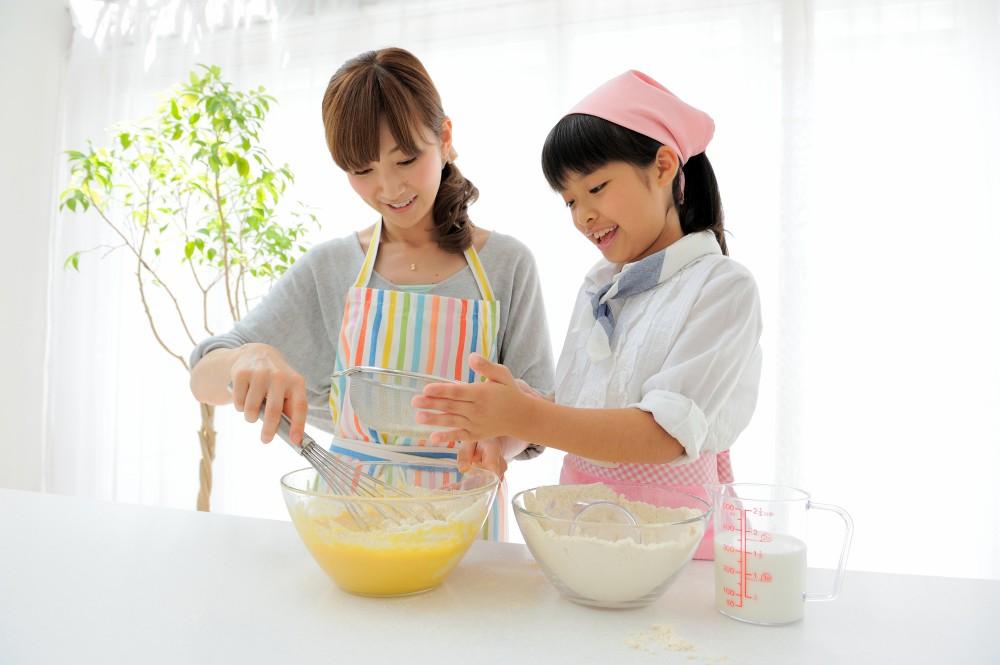 親子でおやつ作りも楽しい時間を過ごせそうですね。
