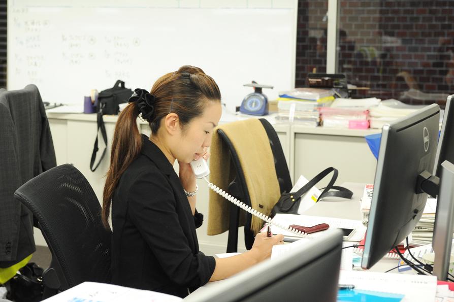 働くママのひとり、木口さん。