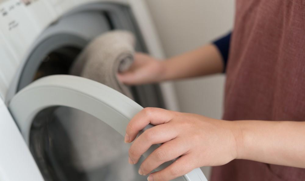 子どもの着替えで洗濯物が山盛りになります。