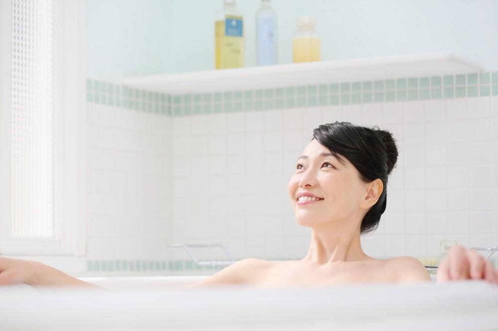 1日10分お風呂につかるだけで効果がでます!