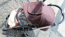 ベビーカーに子どもを無理やり乗せるママを見て感じた【忘れちゃいけない】赤ちゃん時代